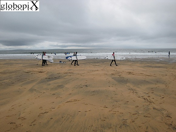 Tour Irlanda - Surfers in Fanore