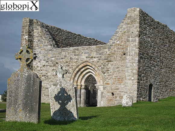 Tour Irlanda - Temple Finghin at Clonmacnoise