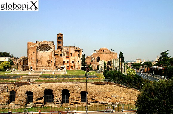 Rome - Foro Romano and Palatino archaeological sites