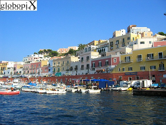 Ponza and Ventotene - Harbour's Ponza