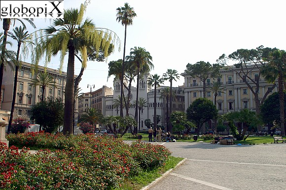 Rome - Piazza Cavour