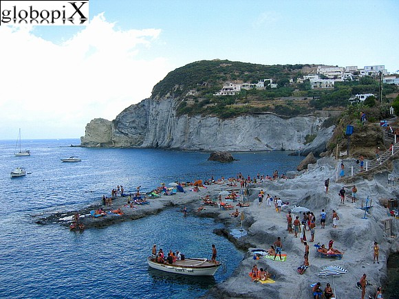 Ponza and Ventotene - Ponza's rugged coast