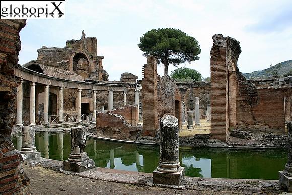 Pecile Villa Adriana Tivoli Ricerca