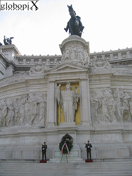 Rome - The Altare della Patria at the Vittoriano