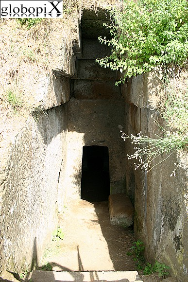 Cerveteri - The entrance