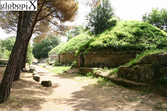 Cerveteri - The Necropoli