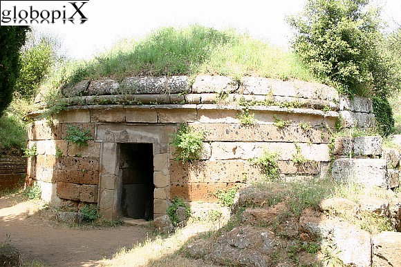 Cerveteri - The tumulus