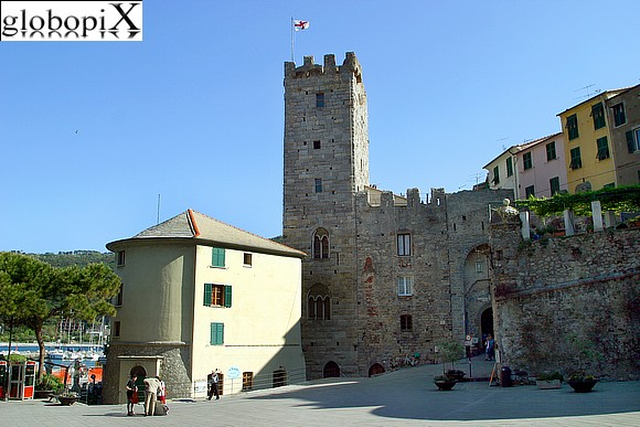 Portovenere - Entrance gate of the ancient borough