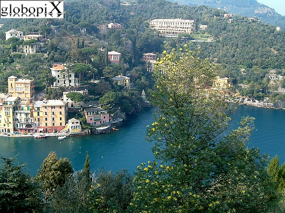 Portofino - Panorama from the castle