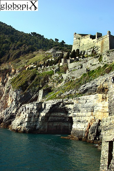 Portovenere - Panorama from the chiesa di S. Pietro
