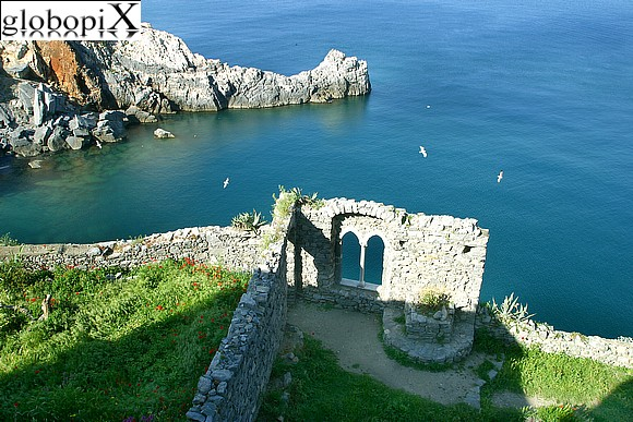 Portovenere - Panorama from the Saracen towers