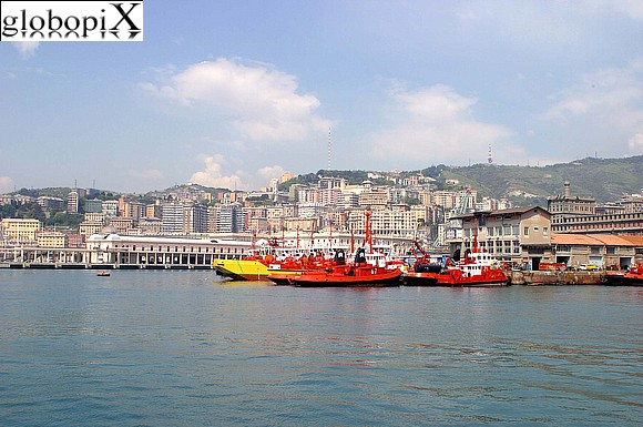 Genoa - Panorama of Genova