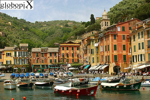Portofino - Portofino's harbour and piazzetta
