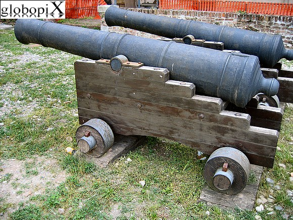 Pavia - Cannons