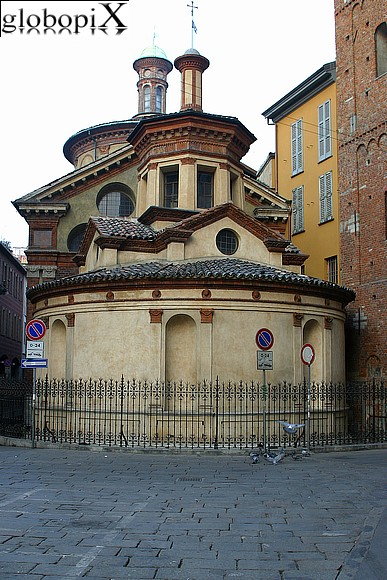 Milan - Chapel of San Satiro