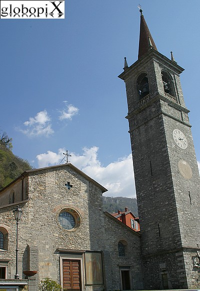 Lago di Como - Church of San Giorgio
