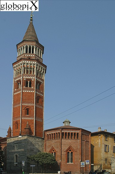 Milan - Church of San Gottardo in Corte