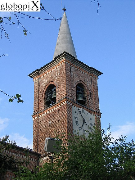 Varese - Collegiata's bell tower.