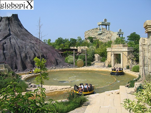 Lago di Garda - Gardaland - Jungle Rapids