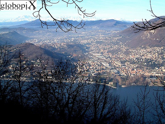 Lago di Como - Panorama from Brunate