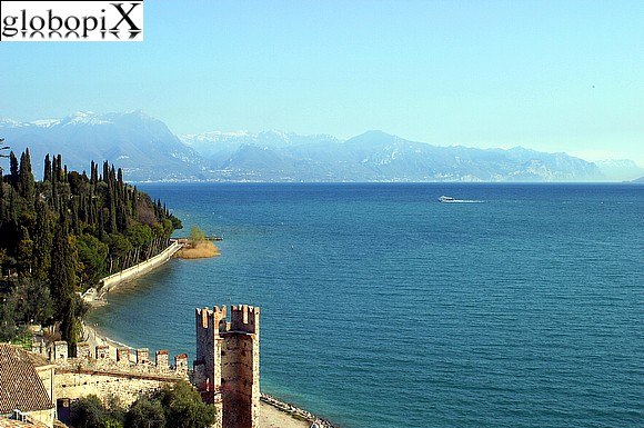 Lago di Garda - Panorama of the lake