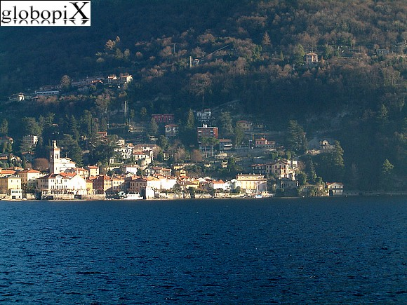 Lago di Como - Panorama of Torno