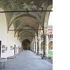 Photo: Castello Visconteos portico