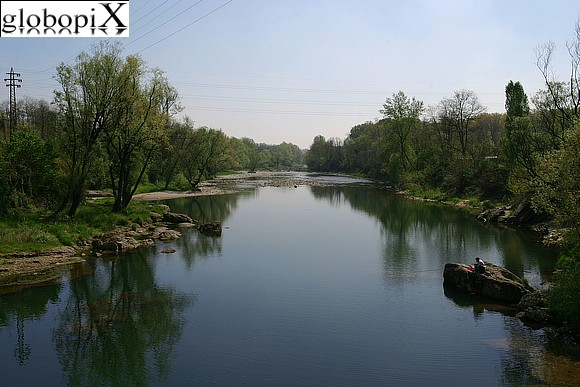 Crespi d'Adda - The Adda river