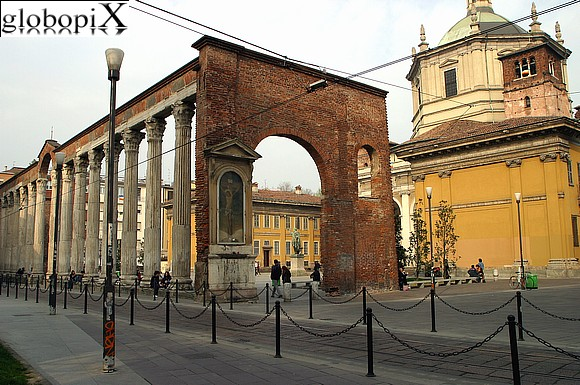 Milan - The columns of San Lorenzo