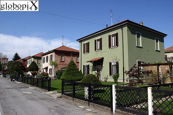Crespi d'Adda - Typical workers houses