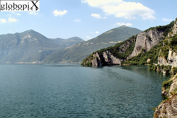 Lago di Iseo - View from the church of S. Giorgio
