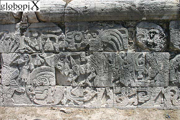 Chichen Itza - Guerrieri