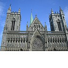 Photo: Cattedrale Nidaros a Trondheim