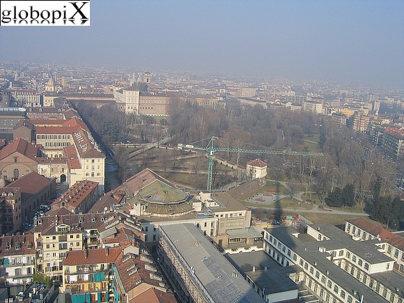 Turin - Panorama of Turin from the Mole Antonelliana