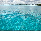 Photo: Acqua cristallina a Bora Bora