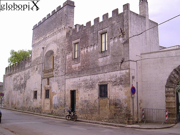 Salento - Castello Winspeare at Depressa