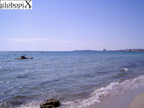 Gallipoli - Gallipoli beach