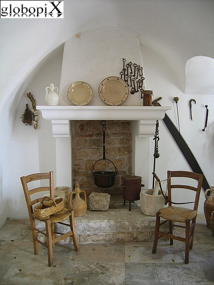Alberobello - Inside the Trullo Sovrano