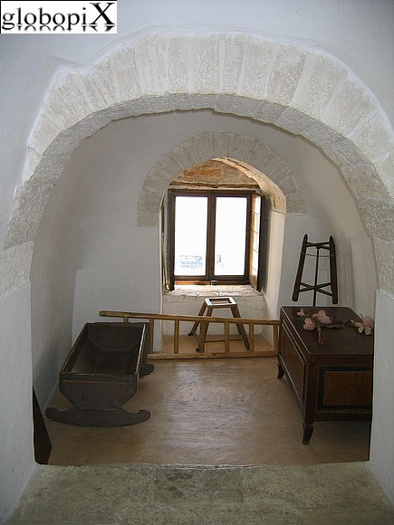 Alberobello - Inside of Trullo Sovrano
