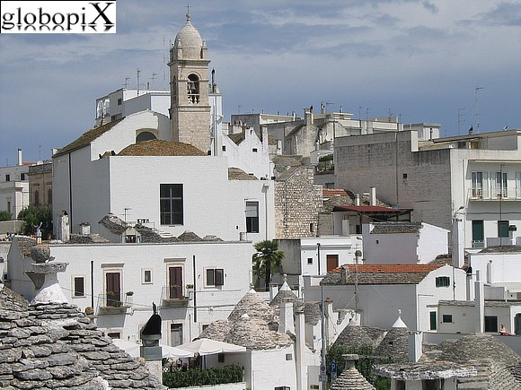 Alberobello - Panoramic sight of Alberobello