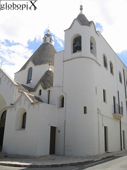 Alberobello - St. Antonio church