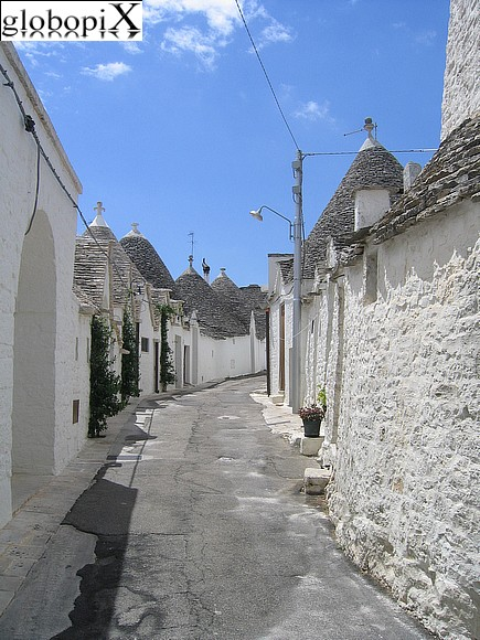 Alberobello - View from D'Annunzio square