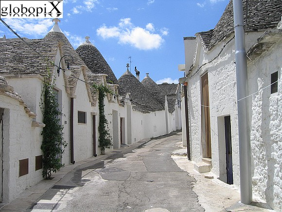 Alberobello - View of Trulli