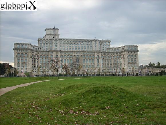 Foto bucarest casa poporului palazzo del parlamento for Foto del parlamento