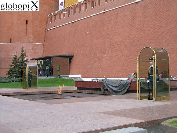 Moscow - Alexander Garden - Unknown Soldier