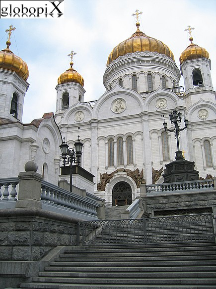 Moscow - Cathedral of Christ the Savior