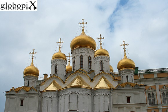 Moscow - Kremlin - Cathedral of the Annunciation