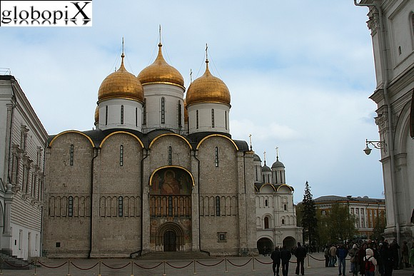 Moscow - Kremlin - Cathedral of the Assumption