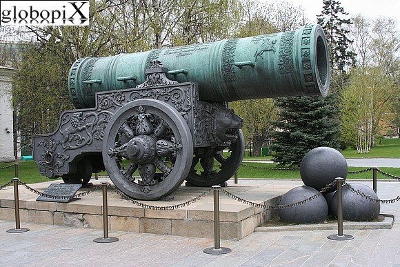 Moscow - Kremlin - Gun of the zar