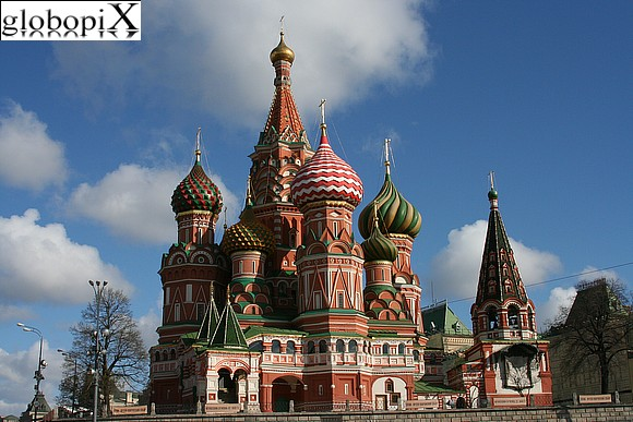 Moscow - Red Square - Cathedral of Saint Basil